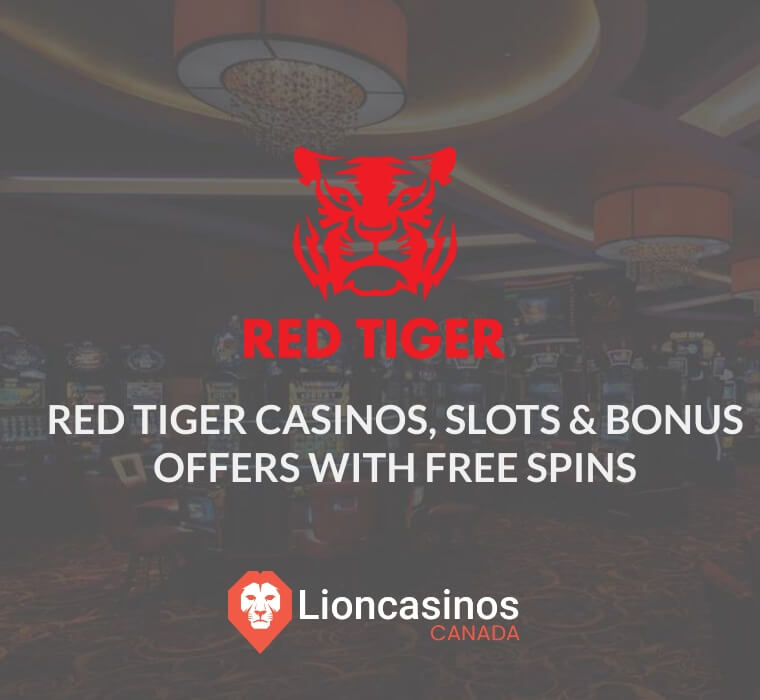 red tiger gaming casinos, slots & top free spins