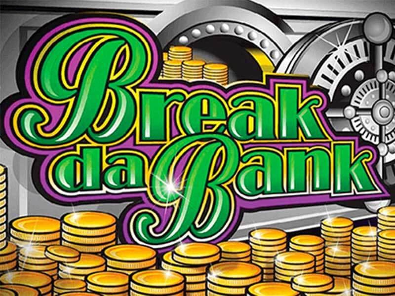 break da bank slot logo