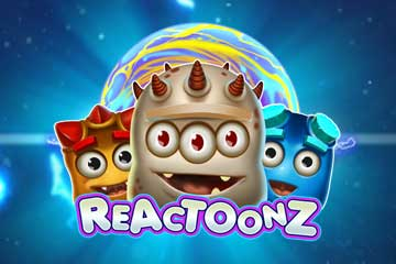 reactoonz slot logo