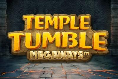 temple tumble slot logo