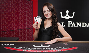 royal panda live blackjack